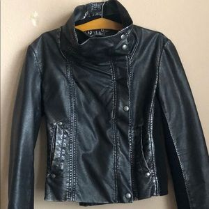 Guess Moto Faux Leather Jacket